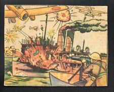 U. S. S. PANAY IS ATTACKED BY THE JAPANESE 1938 GUM INC. HORRORS OF WAR  #9