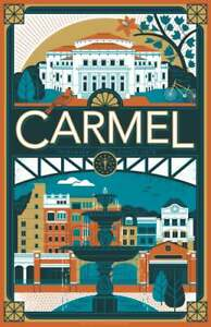 Poster Carmel, Indiana Poster