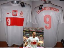 La Pologne Lewandowski adulte XXL NIKE BNWT shirt jersey football soccer POLSKA EURO