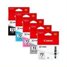 Canon Pgi-72 6403B007 Multipack PBK G PM PC Co Ink Cartridge Pixma Pro10 Genuine