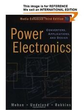 Power Electronics: Converters, Applications, and Design-Int' Ed PaperBack - 3 Ed