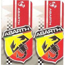 "Sticker "" ABARTH "" 68mm x 65mm BIC Lighter"