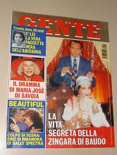 GENTE 1996/1=CLORIS BOSCA=TULLIO SOLENGHI=RAOUL BOVA=TOTO CASCIO=CUTUGNO TENDOLA