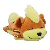 Pokemon Center Original Plush Doll Kuttari Growlithe Sleep Version New Japan