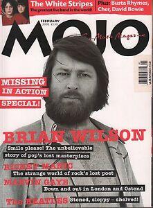 Mojo February 2002 Brian Wilson, The Beatles, Marvin Gaye 070317nonDBE