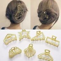 Mode Frauen Metall Haarklammer Haarband Haarspange Clamp Haarschmuck Heiß C W2E1