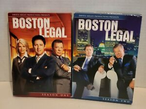 Boston Legal - Season One and Two. Good condition.
