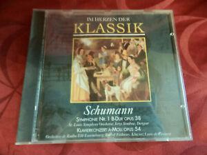 Schumann - Symphonie Nr. 1 B-Dur Opus 38 - Klavierkonzert A-Moll Opus 54 - CD -