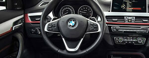 BMW Brand OEM F48 X1 2016+ Brushed Aluminum With Red Accent Interior Trim Kit