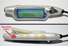 Tested Sharp LCD Remote Control Minidisc MD. Backlit display, recording button