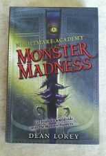 Nightmare Academy #2 Monster Madness 2 Dean Lorey 2008 HC 1st Ed 1st Printing