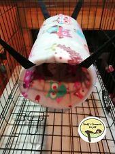 cosy Large Tunnel hammock. ferret,rat,chinchilla,degu.small Pet.