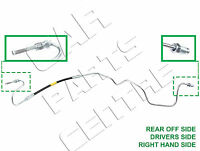 FOR PEUGEOT 307 RIGHT DRIVERS SIDE OUTER REAR BRAKE HOSE inc COPPER METAL PIPE