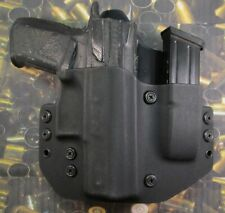 Hunt Ready Holsters:  CZ P07 OWB Holster with Extra Mag Carrier