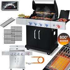 KESSER® Gasgrill BBQ Grillwagen 4+1 Brenner Edelstahl XXL Gas Grillen Garten