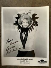 ACTRESS ANGIE DICKINSON  Signed Autographed 8X10 promo Photo IN PERSON 1997 COA