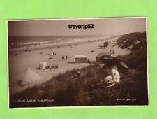 Sunny Days at Mablethorpe parasole unused RP pc Donlion Ref A977