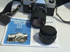 Praktica MTL5 camera + Pentacon 50mm f2.8 lens plus 35mm 70mm zoom lens
