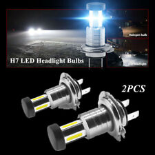 2PCS 110W Car 360 Degree H7 LED Headlight Lamp Bulbs Lighting Fog Light & DRL