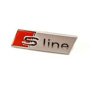 AUDI TT MK3 FV Steering Wheel S LINE Badge 8S0419685 NEW GENUINE