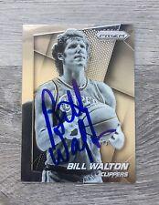 BILL WALTON PORTLAND TRAILBLAZERS CLIPPERS UCLA SIGNED 2014-15 PANINI PRIZM CARD