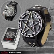 etNox Uhr Pentacle Time Pentagramm Gothic Schmuck - NEU