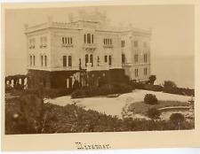 France, Miramar Vintage albumen print.  Tirage albuminé  15x20  Circa 1880