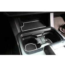 Cup Holder, Door Liner Insert Accessories For Toyota Tacoma 2016-2020 White Trim