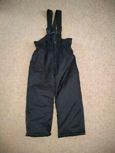 Boys Ski Pants 5-6yrs Black