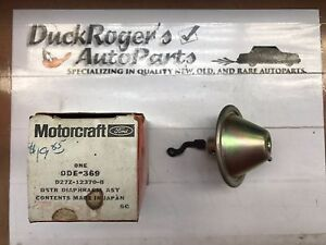 NOS Motorcraft Distributor Diaphragm Asy. DDE-369 1972-1982 Ford Courier