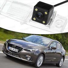 4 LED CCD Rearview Camera Reverse Parking Backup for Mazda 3 Sedan 2014-2016