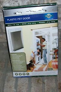 PetSafe Plastic Pet Door SMALL Flexible Tinted Flap Paintable Frame *NEW* 42082B