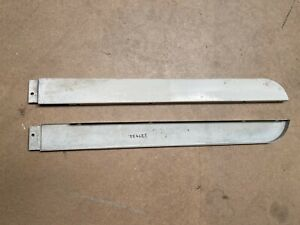 LAND ROVER SERIES 2A LWB REAR SILL PANEL RIGHT HAND 109  1968-70 GENUINE NOS