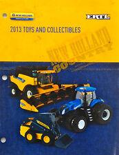 ERTL 2013 NEW HOLLAND LARGE TOY CATALOG 1/64 1/50 1/16