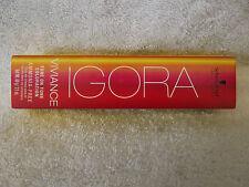NEW PKG Schwarzkopf Igora VIVIANCE Ammonia Free Tone on Tone Hair Color ~ 2.1 oz