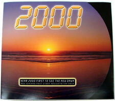 New Zealand 2000 Millennium Stamps Presentation Pack Full Sheet FDC Maxi Card