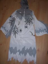 HALLOWEEN GREY & WHITE BEASTY BOY WITH SPIDER WEBB- NEW WITHOUT TAGS -AGE 9-12y