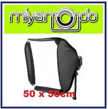 50x50cm Portable Soft Box Softbox Kit For Flash Photography