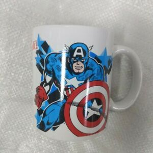 Iron Man & Captain America Marvel Avengers Coffee Mug 12 Ounce