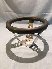 "1960's 8"" Cal Custom Steering Wheel Rubber Grip Rat Rod 6"" Tall"