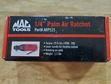 "New Mac Tools 1/4"" Drive Palm Composite Air Ratchet"