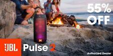 JBL Pulse 2 Spashproof Portable Bluetooth Speaker Light Show *Authorized Dealer*