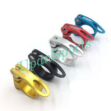 Road Bike MTB Bicycle Seat Post Seatpost Clamp Quick Release Φ31.8mm 34.9mm B129