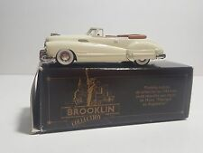●Brooklin Models● 1/43 Scale BRK45A  1948 Buick Roadmaster Conv - Cream k126