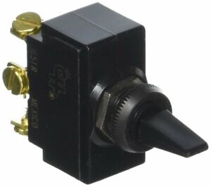 Cole Hersee 54104-BP SPDT Toggle Switch (Momentary)