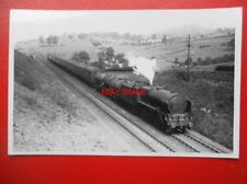 PHOTO  LMS ROYAL SCOT 4-6-0 LOCO NO 6103 NEAR HINCASTER JC. 30/8/39  6.50AM ABER
