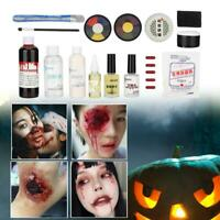 Special Effects Face Body Skin Wax Faux Blood Cream Halloween Cosplay Makeup Kit