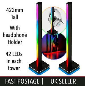 Corsair Icue LT100 Smart Lighting Towers LED Starter Kit Gaming Streaming Colour