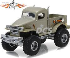"GREENLIGHT Military 1/2 Ton 4x4 Pickup Truck ""Sgt. Rock Stacey David 1/64 44750D"