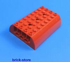 LEGO FERROVIA (7938) TRENO / Locomotiva / vagone TETTO ROSSO / 1 pezzo